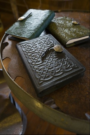Hand tooled leather diaries and appointment books - Upper Lake Mercantile