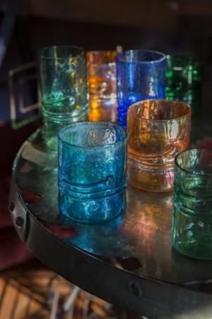 Handblown glasses and tumblers - Upper Lake Mercantile