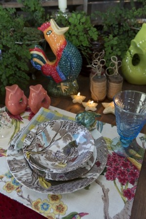 Picture perfect place settings - Upper Lake Mercantile